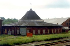 B&O roundhouse complex, Martinsburg, West Virginia.
