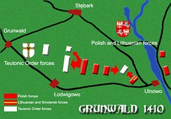 Retreat of Lithuanian light cavalry