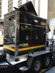 Biodiesel is also used in rental generators