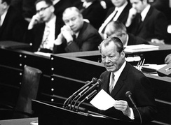 Willy Brandt (1913–1992), German Chancellor and Nobel Peace Prize laureate of 1971
