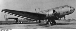 Ju 86G - note the radial engines and rounded glazed nose