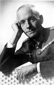 General Hans Oster, deputy head of the Abwehr met with other German military officers on 20 September 1938 to discuss final plans of a plot to overthrow the regime.