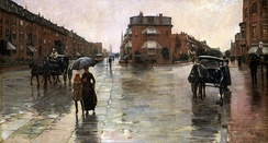 Rainy Day, Boston (1885), Toledo Museum of Art in Ohio