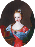 Infanta Benedita of Portugal in 1753