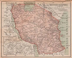 Map of German East Africa.