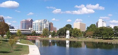 Huntsville, third-largest city and second-largest metropolitan area