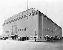 Exterior view of the Olympic Auditorium