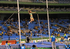 The pole vault competition at the 2007 Pan American Games