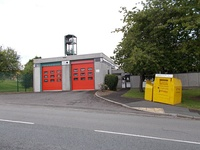 Stanks fire station at Swarcliffe (closed 2015)
