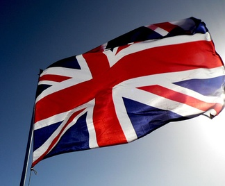 The Union Flag, the national flag of the United Kingdom