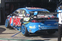 The Ford FG X Falcon of Mark Winterbottom at the 2015 Clipsal 500 Adelaide