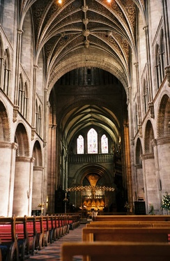 Hereford is one of the church's 43 cathedrals; many have histories stretching back centuries