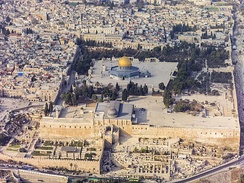 View of the southern part of Temple Mount