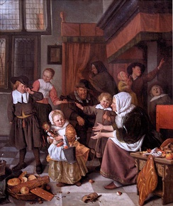 Steen's The Feast of Saint Nicholas