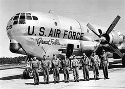 KC-97 of the 97th Air Refueling Squadron at Malmstrom AFB