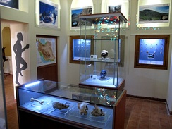 An archaeology museum at Kermanshah, Iran