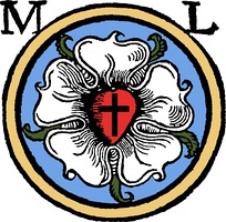 Luther's rose seal, a symbol of Lutheranism