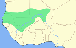 Extension of the Mali Empire at its height