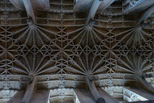 Cathedral chancel vault
