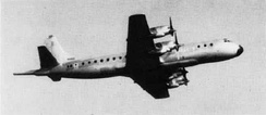 The first Orion prototype was a converted Lockheed Electra.