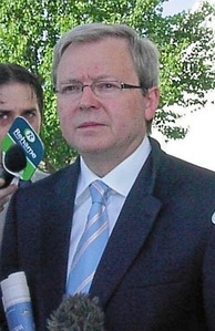 Kevin Rudd in November 2005