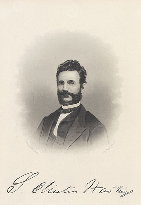 Serranus Clinton Hastings as a young man