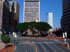 State House Square in Downtown Hartford, 2008