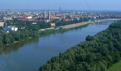 The Tisza is the longest tributary of the Danube