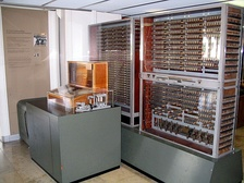 Replica of Zuse's Z3, the first fully automatic, digital (electromechanical) computer.