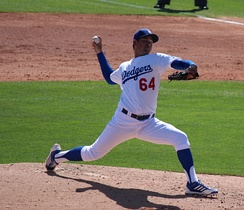 2010 first round draft pick Zach Lee made his major league debut on July 25 against the Mets.