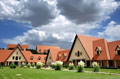 Al Akhawayn University in Ifrane.