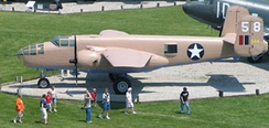 B-25J 44-86843 at Grissom ARB, Indiana