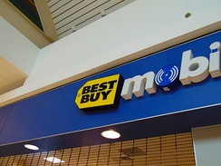 The Former Best Buy Mobile located in the Brass Mill Center, Waterbury, Connecticut.