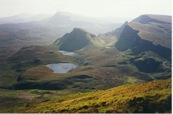 Blar a' Bhuailte, the site of the Vikings' last stand in Skye