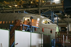 "Assembly of ""Section 41"", the nose section of the Boeing 787"