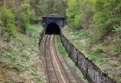South portal of the Bramhope Tunnel