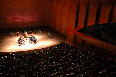 Adrienne Arsht Stage, inside Alice Tully Hall.[53]