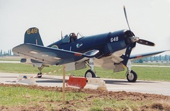 Restored RNZAF Corsair