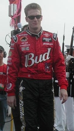 Dale Earnhardt Jr. finished third in the championship.