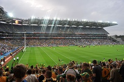 Donegal defeated Kildare in the 2011 All-Ireland Senior Football Championship in Jim McGuinness's first season in charge.