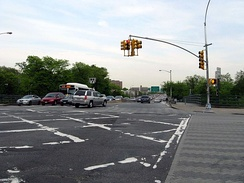 East end of 181st Street