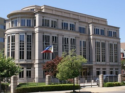 The Philippine Embassy in Washington, D.C..