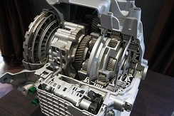 ZF 9-HP48 sectioned gearbox