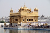 The Golden Temple in Amritsar (Punjab, India)