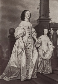 Electress Sophia and her daughter