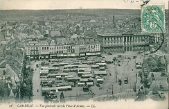 The Place d'Armes, on a market day before the First World War