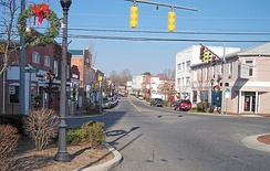 Walnut Street in Milford in 2006