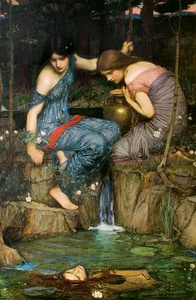Nymphs Finding the Head of Orpheus1900