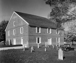 Barratt's Chapel, built in 1780, is the oldest Methodist Church in the United States built for that purpose. The church was a meeting place of Asbury and Coke.