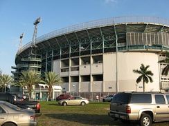 Miami Orange Bowl, North Gate